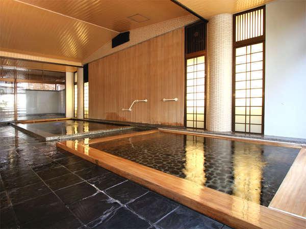 *竹生の湯/男女入替制で2つの大浴場をお楽しみ頂けます。