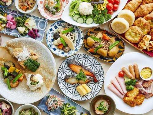 【朝食】バランスの良い和洋食ブッフェ