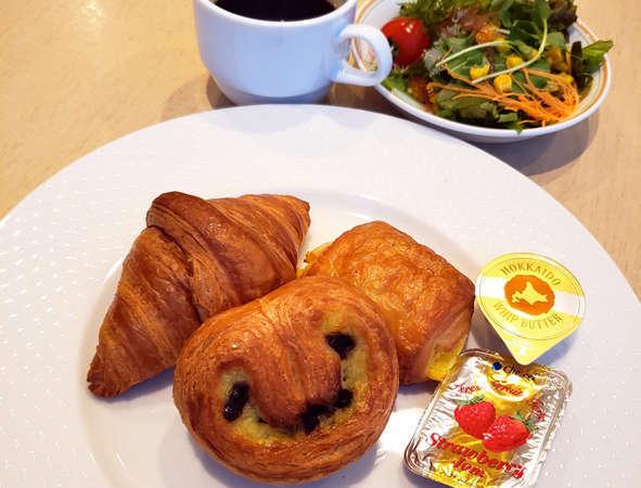 【朝食】ブレッドセット ※写真はイメージです