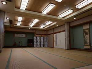 【お部屋一例】大広間(40名様収容)で宴会も可能ですよ!
