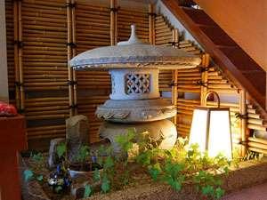 ちょっとしたスペースにも、小京都を感じませんか?