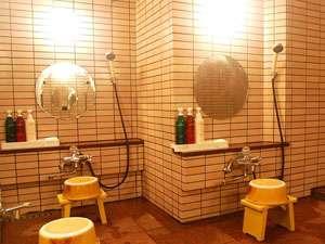 洗い場はあまり大きくはございませんがご了承くださいませ