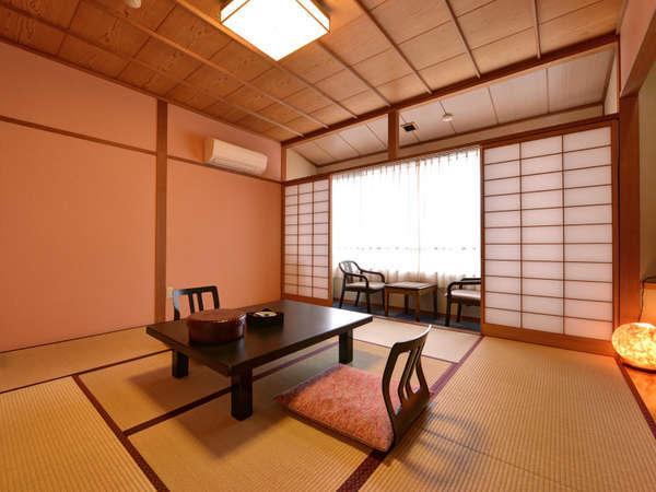 *和室8畳(客室一例)/ご家族でのご宿泊に◎足を伸ばしてのんびりとお寛ぎ下さい。