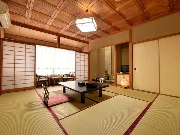 *和室10畳(客室一例)/和の設えが心地よいお部屋。ご家族やグループでのご宿泊にご利用下さい。