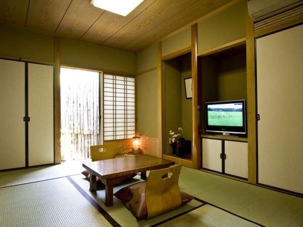 2間の離れ形式の客室1例