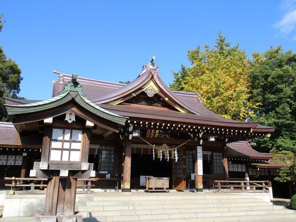 *【周辺】水前寺公園内にある出水神社