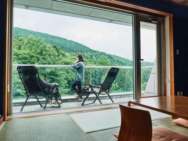 【蔵王温泉 たかみや瑠璃倶楽リゾート ‐RURIKURA RESORT‐】蔵王温泉に佇む、雄大な景色に包まれ、美食を味わう高原リゾート。