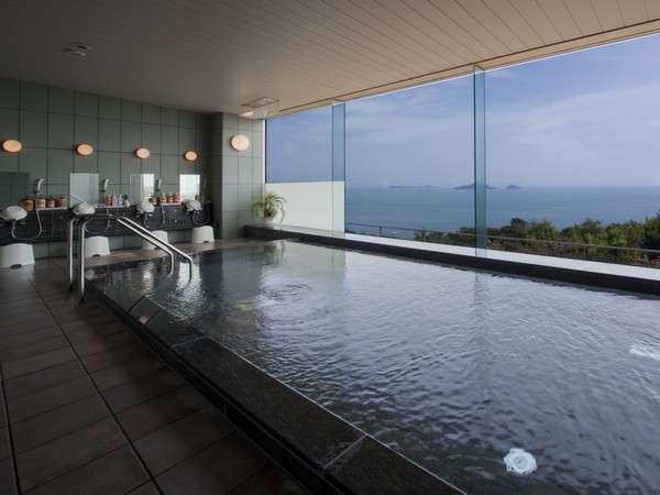 【温泉大浴場】瀬戸内海の絶景が一望できます♪
