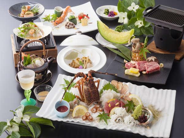 「量より質」和の美食会席イメージ