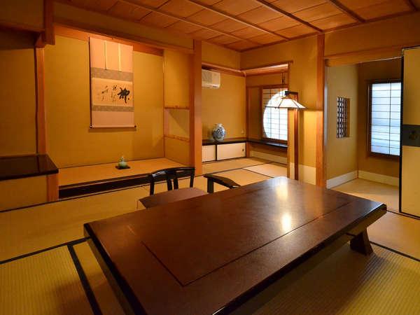 数寄屋 和風書院 スタンダードタイプ 【硯水の間】 日本建築の美の真髄を醸し出してます