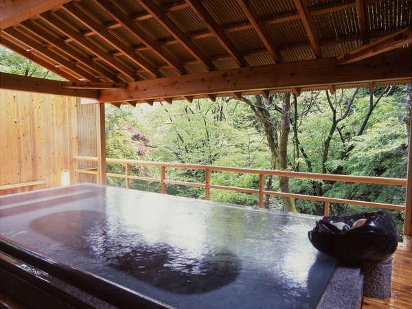 風薫る朝の野天風呂「紅葉」(朝のみ6時~利用可)