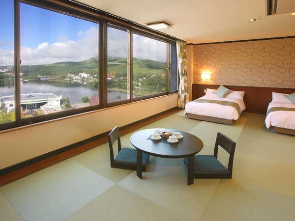 最上階7Fに、畳でくつろぐグレードアップ和洋室が2012年7月にリニューアルオープン。