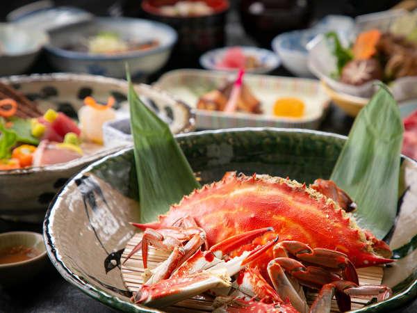 """【わたり蟹姿蒸し】""""ホクホク食感""""食べ応え抜群!水揚げ量日本一!の地産の美味を♪"""