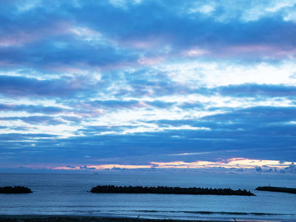 """【露天風呂からの光景】""""太平洋""""やお風呂からの"""" 牡鹿半島や金華山""""の絶景に心癒す♪"""