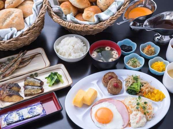 朝食:全部集めるとこんな感じです。
