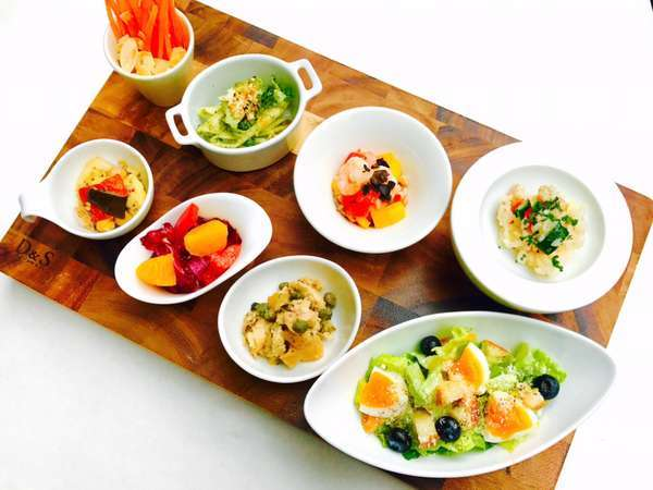 【朝食】和洋ブッフェ:グルマンサラダ