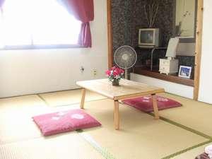 和室6畳タイプ。清掃をしっかりしてますので快適にお過ごしください。