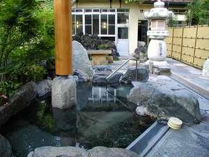 当館メインの野天風呂「仙涯の湯」