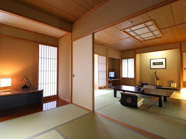 新館 特別室 和室 12.5畳+8畳(写真は一例です。)