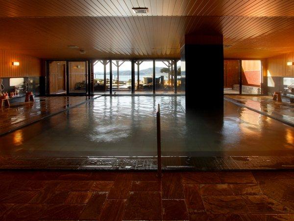 朝夕入替制の大浴場
