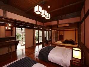 特別和洋室の「紫の間」です。とっても心が和むお部屋です。