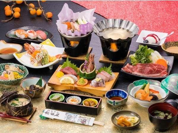 【ホテル秋田屋】新鮮な魚介類を始めとする料理と眺めの良い展望風呂を楽しめる宿。