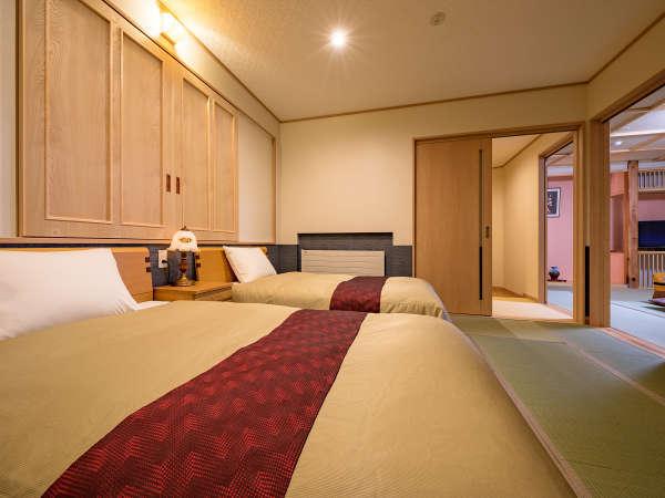和洋室14畳+ベットルーム 4月20日よりリニューアルOPEN!!