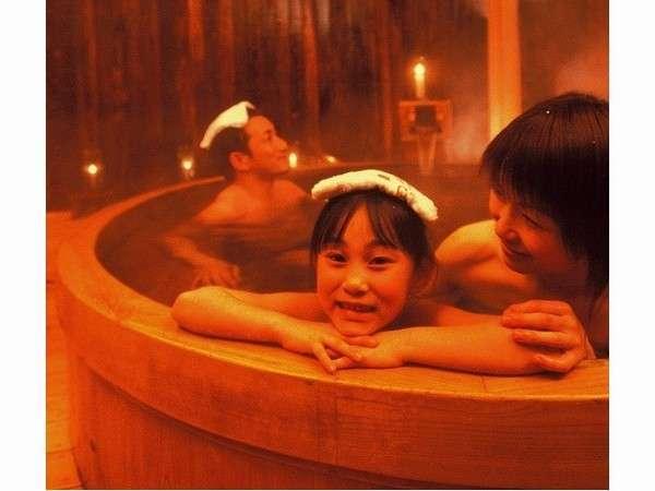 家族でお風呂 貸切風呂