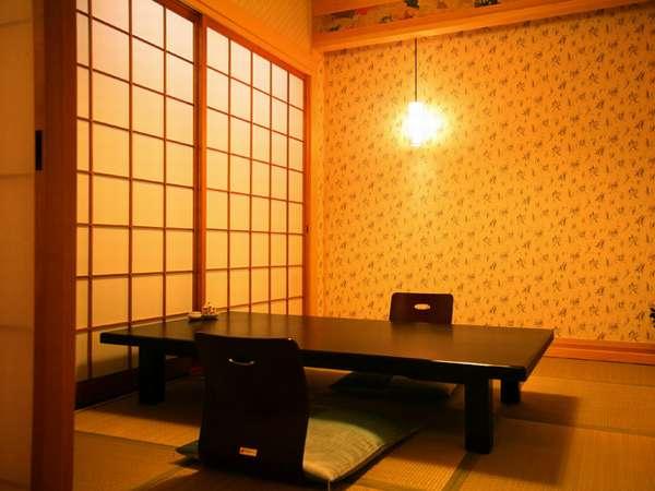 【施設】食事処古道庵の個室。