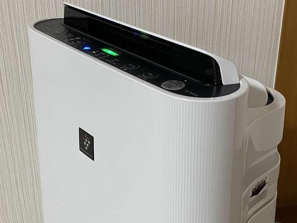 シャープの人気・加湿空気清浄機「プラズマクラスター」を全客室設置!