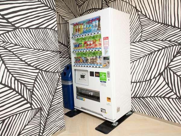 館内:自動販売機