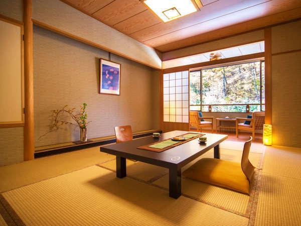 """■通常客室-山景-■~信州の深い緑と面した閑静な一室 誰に邪魔されることもない""""静寂のひとときを♪""""~"""