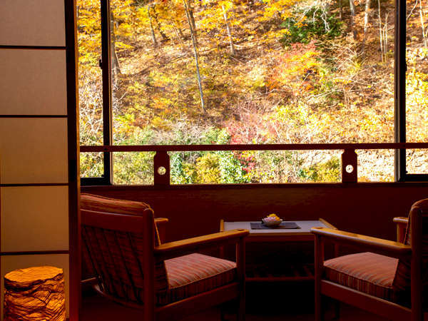 ■-お得な山側客室-■~「夏は新緑、秋は紅葉」手つかずの大自然にこころ癒される眺めをお楽しみください~