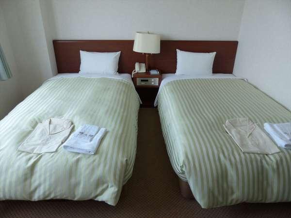 ツインルーム(19.5平米、8、9階のお部屋です)