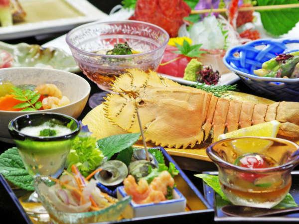 *スタンダード料理の一例。その日に揚がった一番の素材を使用。時にはレア素材も。