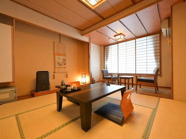 和室(一例)[2~3名様のご利用]ファミリー、ご夫婦でのご利用にお勧めです。