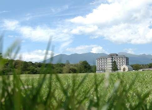 【外観】清々しい風が吹き抜ける那須高原