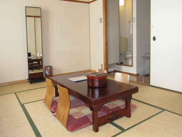 3階和室12畳一間 部屋風呂なし喫煙室 窓側から見たイメージです