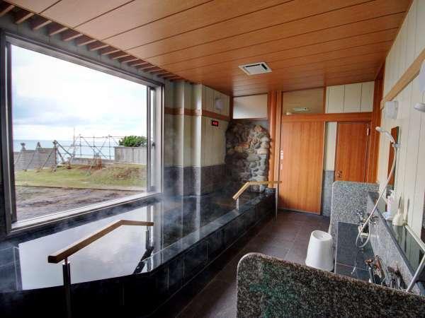 海を眺める『貸切風呂』が2018年12月オープン!家族水入らずでお風呂をお楽しみください。