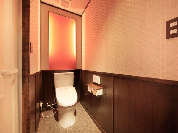 2階 リニューアル部屋(赤)お手洗1