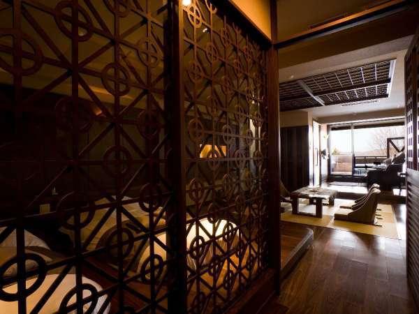 【露天風呂付】和洋室/オホーツクの浪漫漂うゆったりとした空間です。
