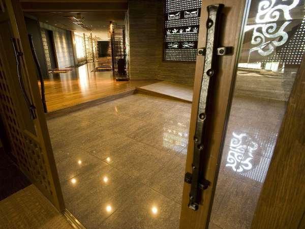 特別フロア「古の座」入口/ご宿泊者様専用フロアです。