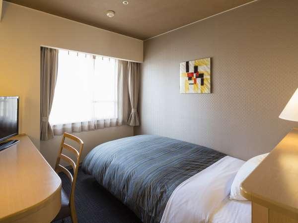 <シングルルーム>Wi-Fi完備 13平米/ベッド幅120cm