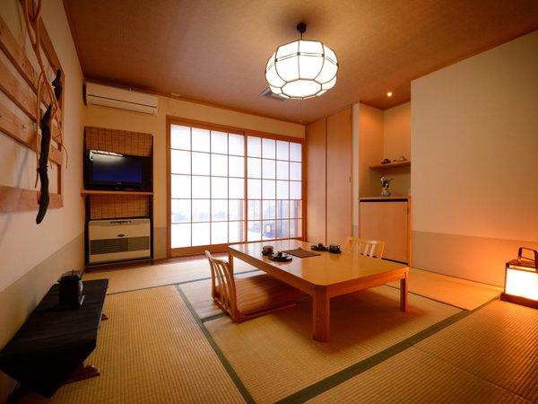天然温泉付客室「曙の空」客室の一例