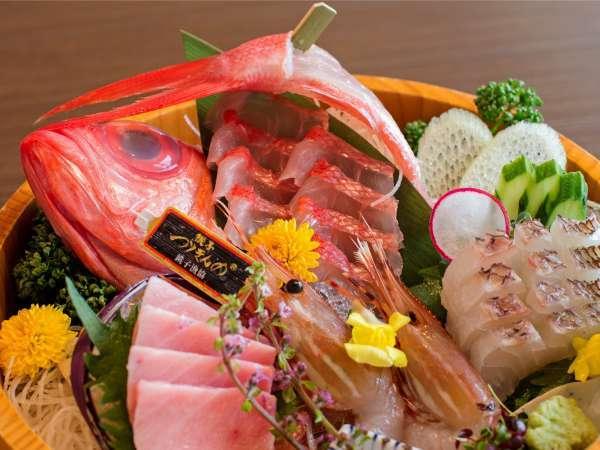 日本屈指の水揚げ量を誇る銚子漁港直送の名物「つりきんめ」