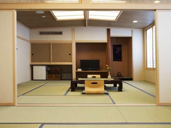 リニューアルした木の香漂う新しい和室