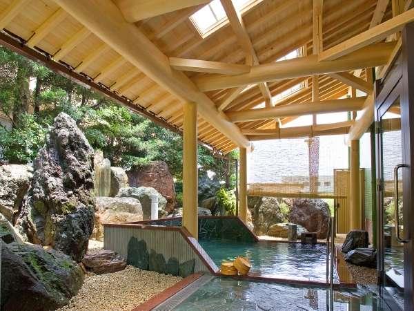 檜の香り漂う新しい庭園露天風呂誕生!