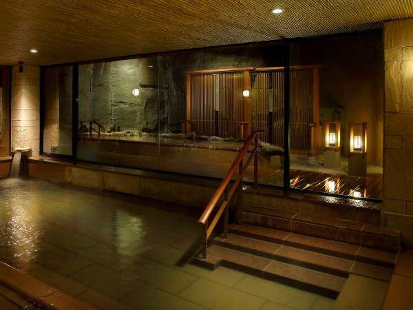 【平安の湯 雅】ゆったりとした空間で湯あみをお楽しみいただけます。