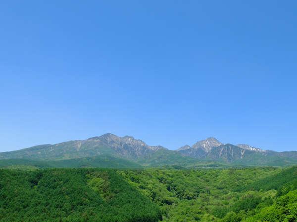 清里高原道路から八ヶ岳