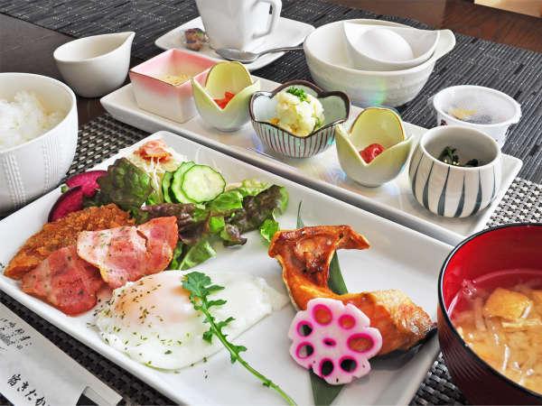 【朝食一例】一日の始まりは美味しい朝食から♪